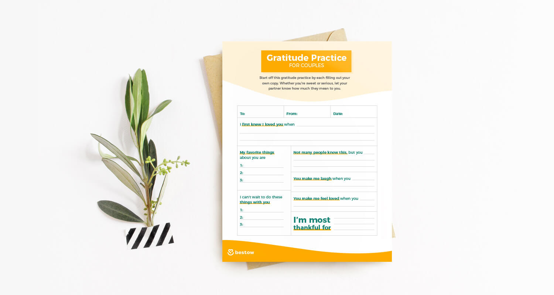partner gratitude printable
