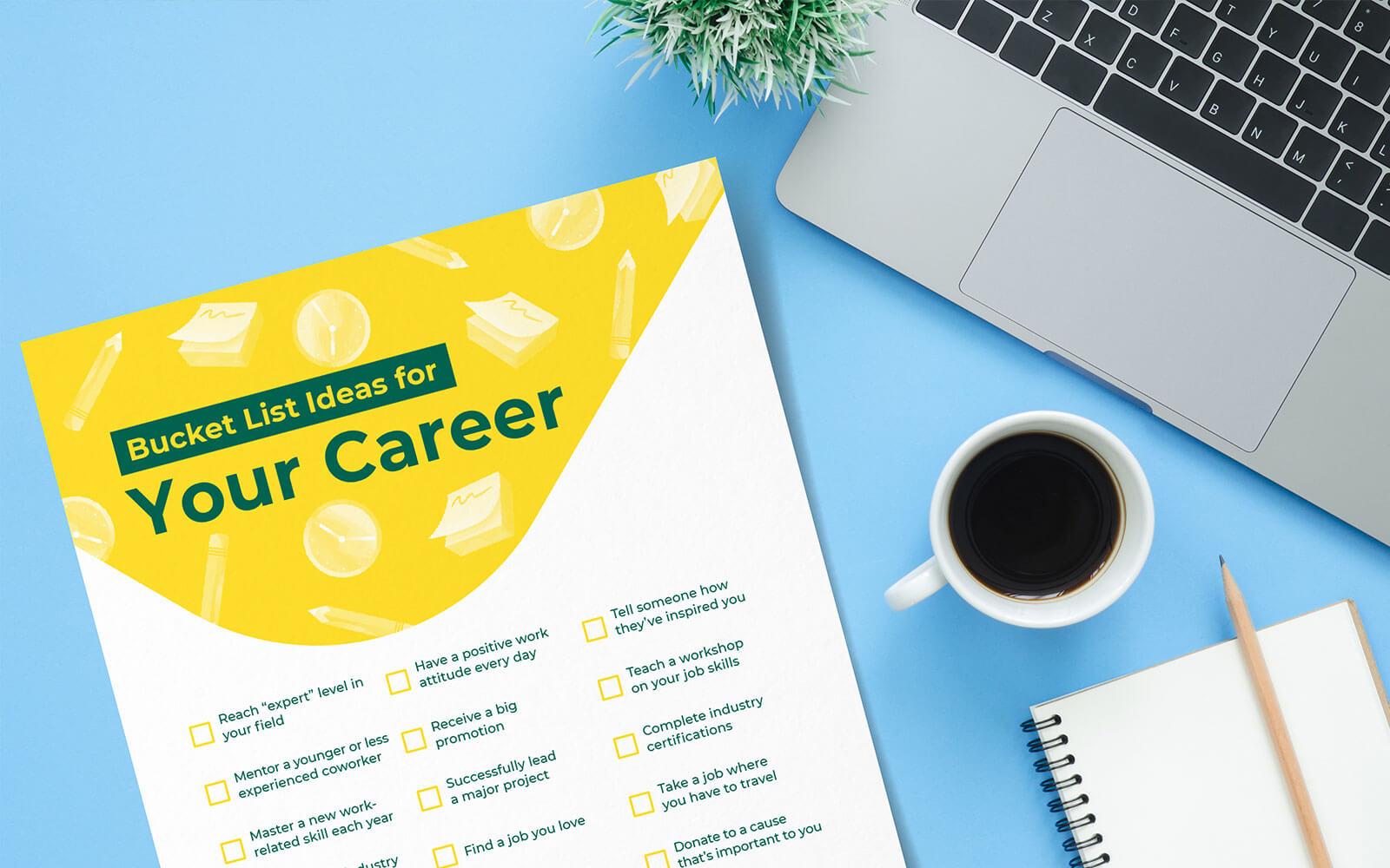 career-bucket-list ideas