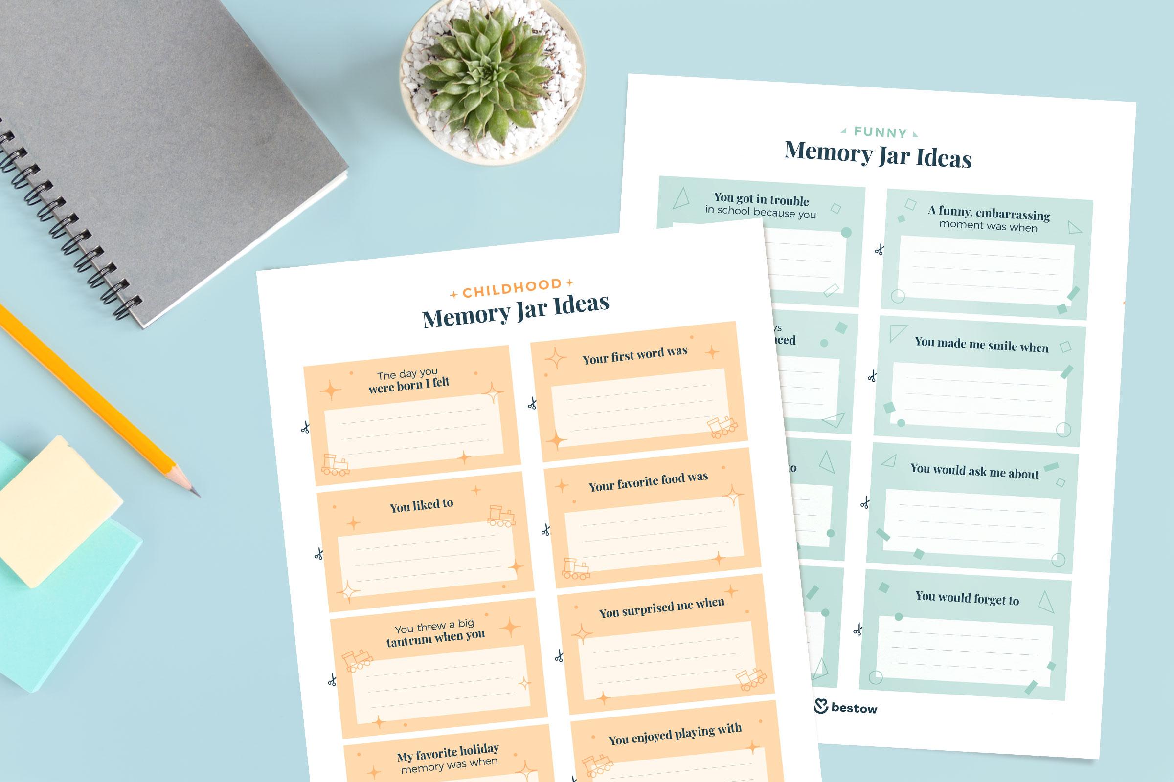 childhood-memory-jar-ideas